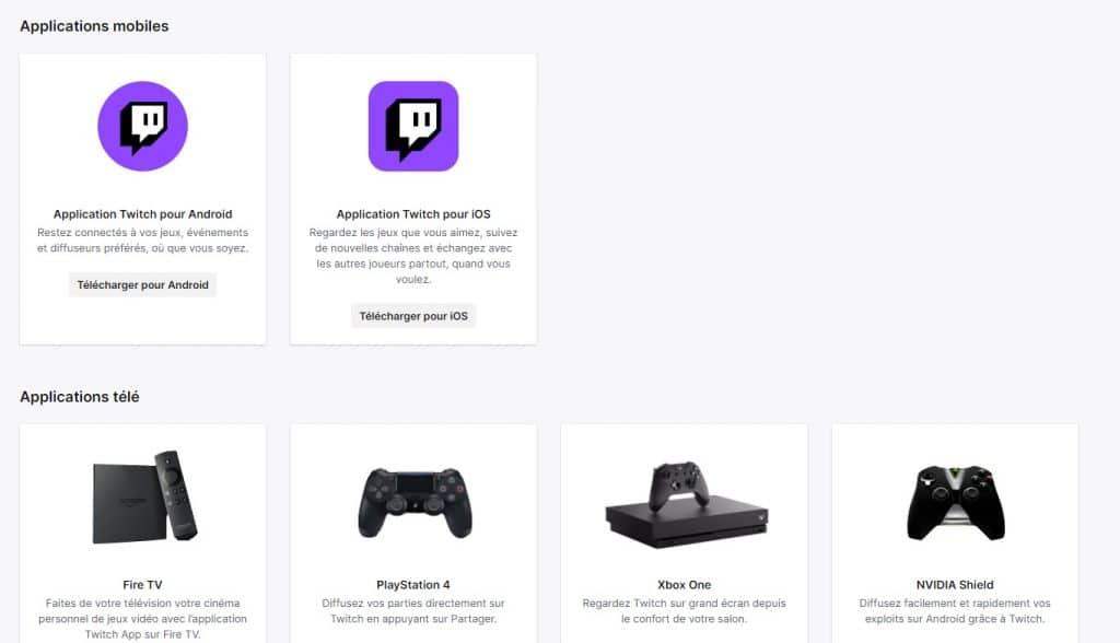 Qu'est-ce que l'application Twitch ?