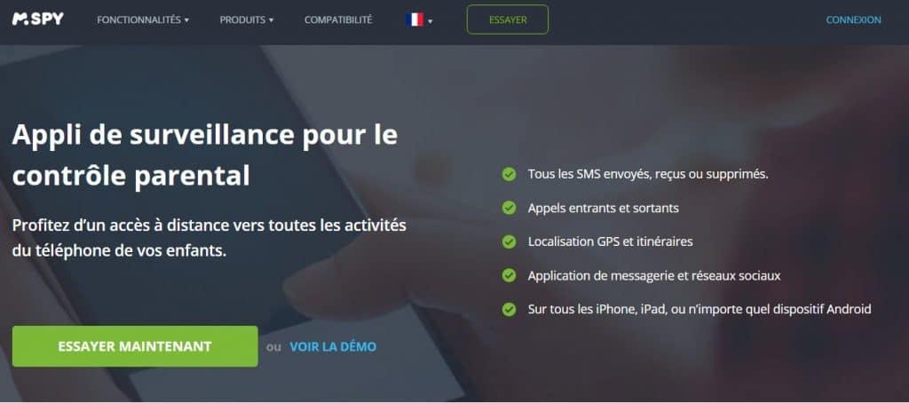 Installer un logiciel espion sur le téléphone : mSpy