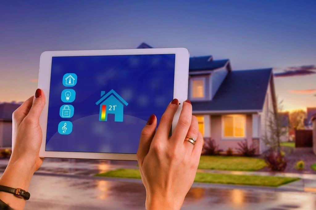 Quel est l'avantage d'une installation domestique communicante ?