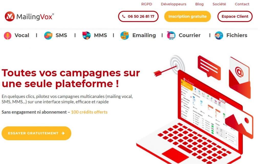 Comment créer une campagne d'emailing avec Mailingvox ?